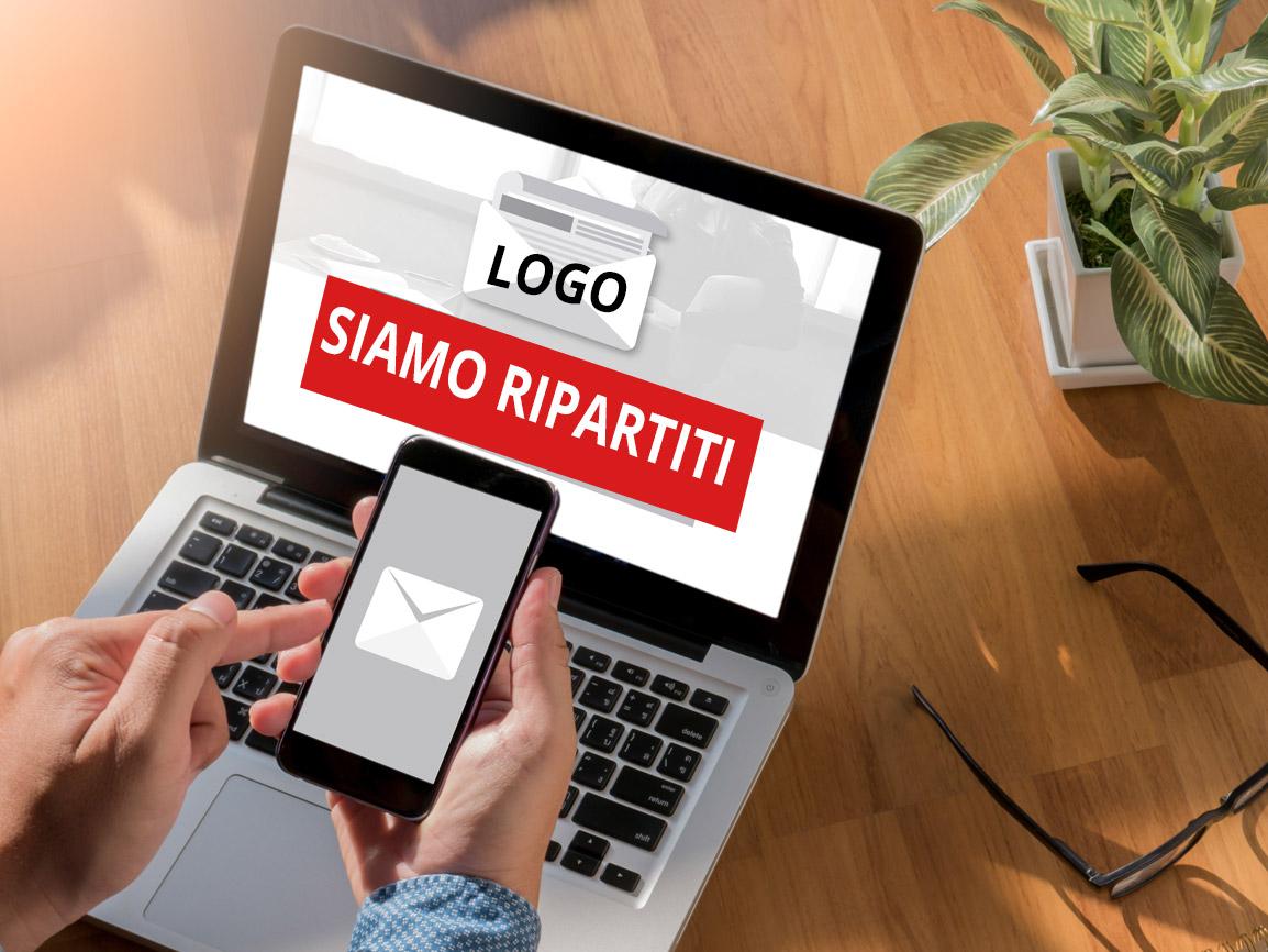 Progettazione e gestione Newsletter per comunicare ai tuoi clienti la riapertura